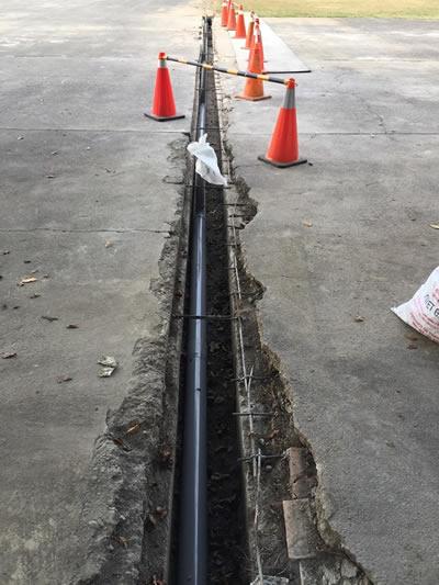 屏東部隊灌漿泥作工程 屏東道路翻修
