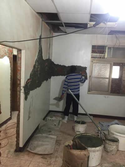 台南仁德黃先生 浴室整修及壁癌處理