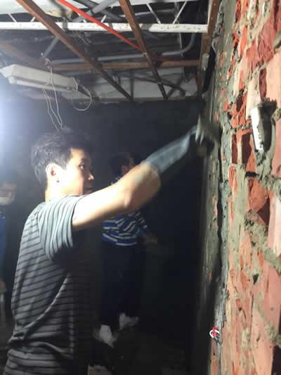 台南仁德黃先生 浴室整修及壁癌處理-浴室裝修