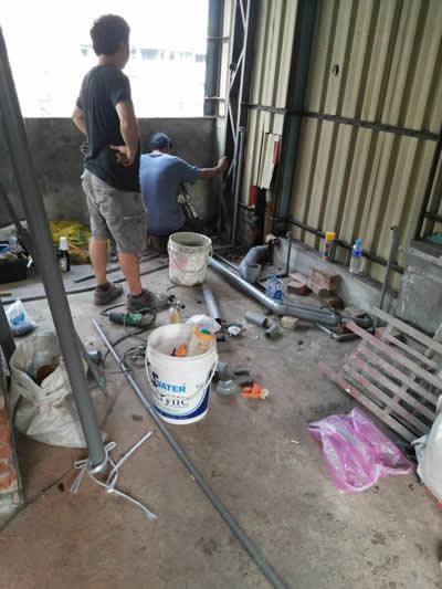 高雄蔡先生 浴室整修及砌磚-浴室裝修