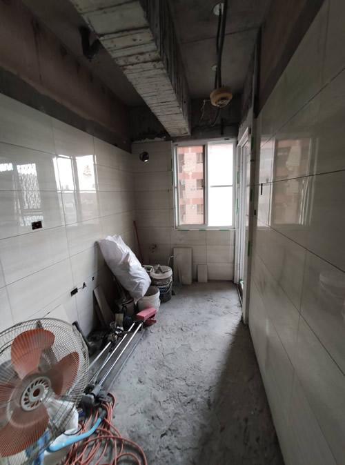 屏東市陳小姐 廚房地磚鋪設-浴室裝修