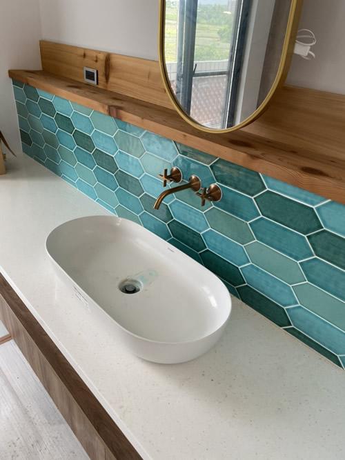 屏東市高級華廈 浴室興建設計-浴室裝修
