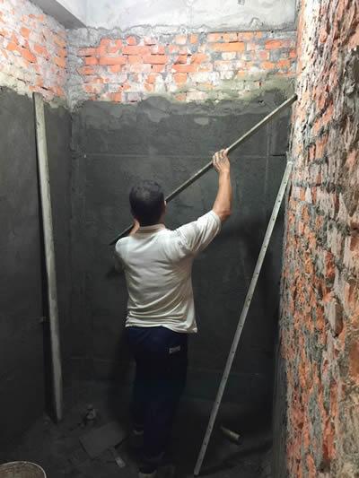 屏東建華ㄧ街陳大哥 興建浴室-浴室裝修